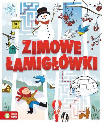 Zimowe łamigłówki - okładka książki