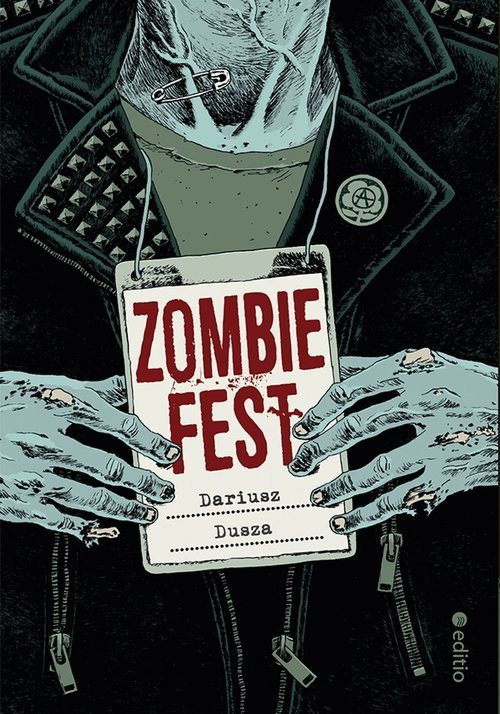 Zombie Fest - okładka książki