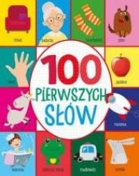 100 pierwszych słów - okładka książki