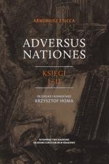 Adversus Nationes. Księgi I-II - okładka książki