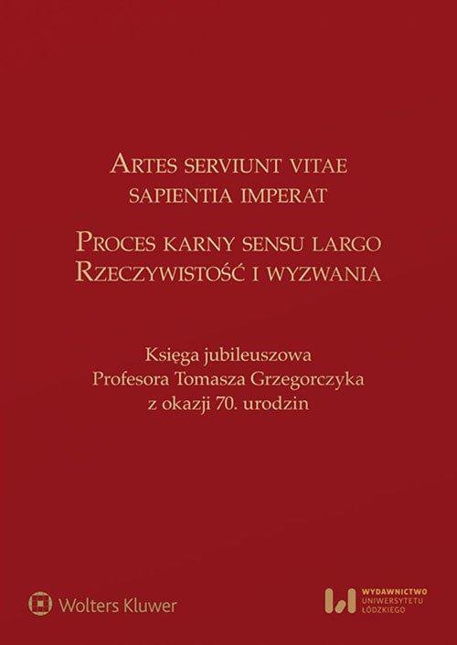 Artes serviunt vitae, sapientia - okładka książki