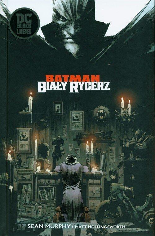 Batman. Biały Rycerz - okładka książki