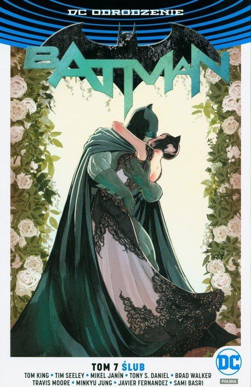 Batman. Tom 7. Ślub - okładka książki