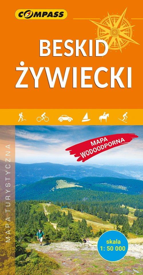 Beskid Żywiecki mapa laminowana - okładka książki