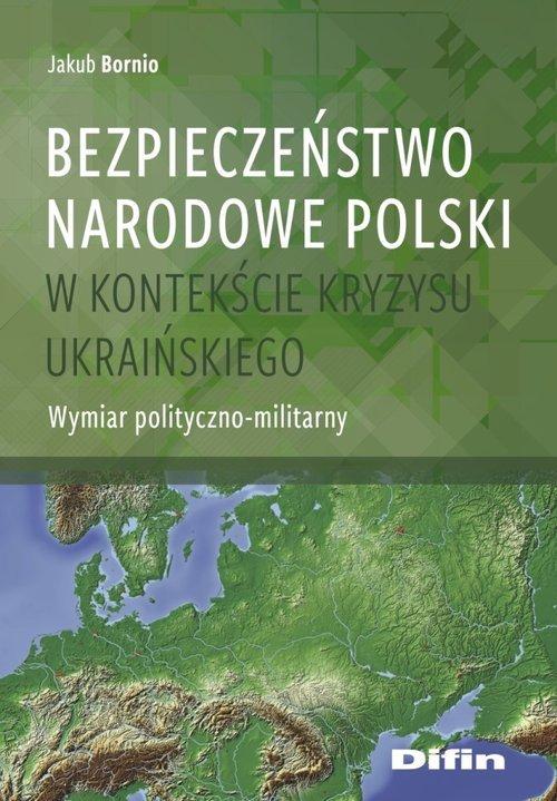 Bezpieczeństwo narodowe Polski - okładka książki