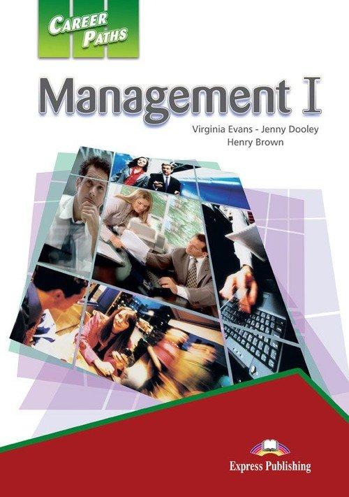 Career Paths: Management 1 SB + - okładka podręcznika