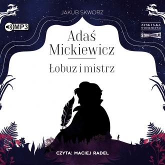 Adaś Mickiewicz. Łobuz i mistrz - pudełko audiobooku