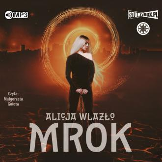 Mrok (CD mp3) - pudełko audiobooku