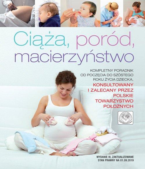 Ciąża, poród, macierzyństwo - okładka książki