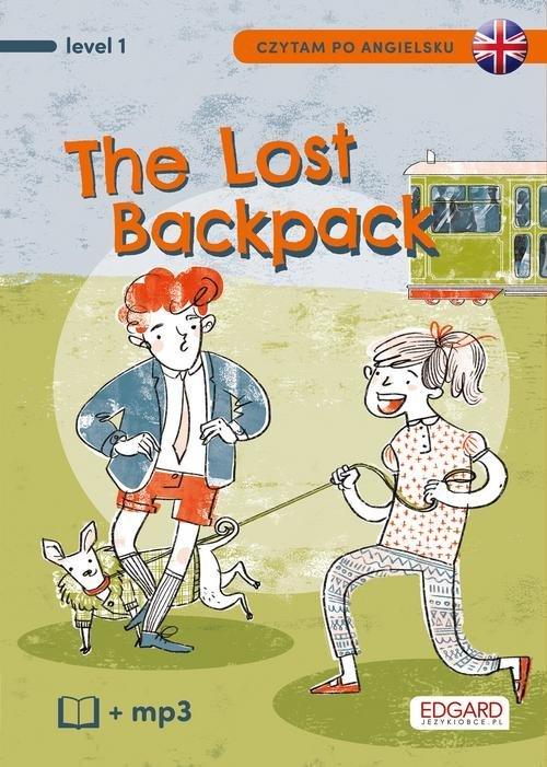 Czytam po angielsku. The Lost Backpack. - okładka podręcznika