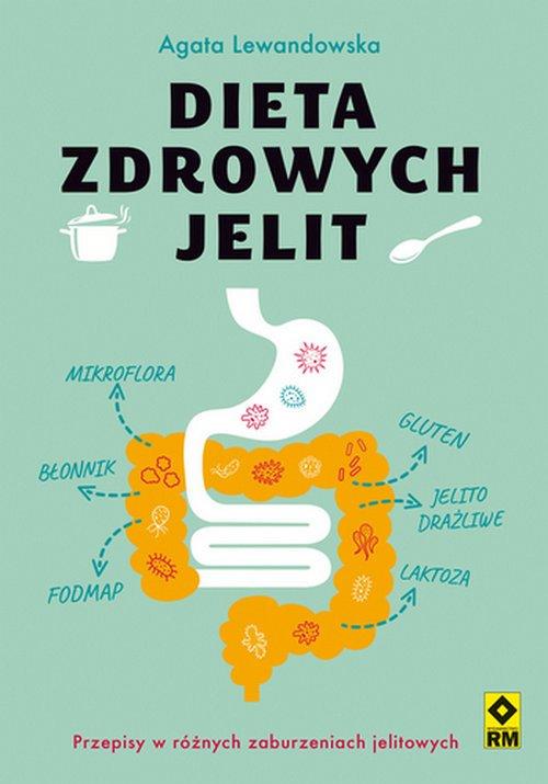 Dieta zdrowych jelit - okładka książki