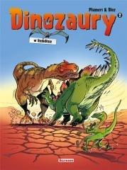 Dinozaury w komiksie. Tom 2 - okładka książki