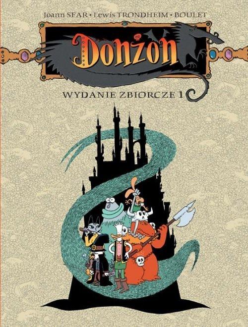 Donżon. Wydanie zbiorcze 1 - okładka książki