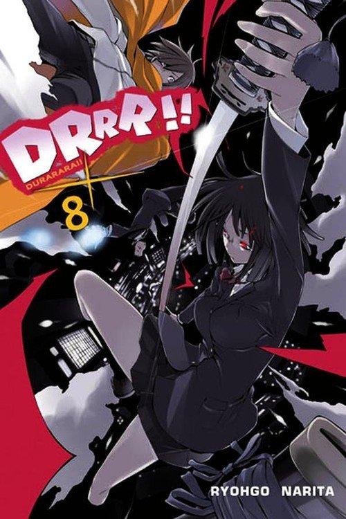 Durarara!! #08 - okładka książki