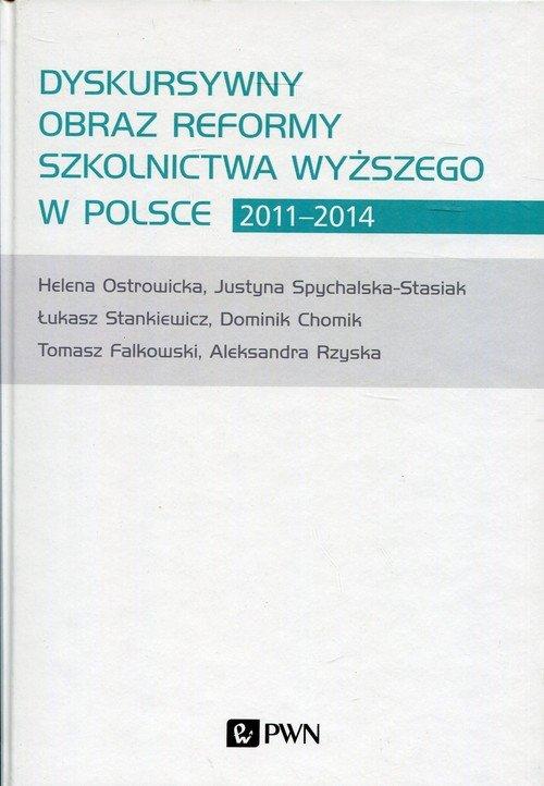 Dyskursywny obraz reformy szkolnictwa - okładka książki