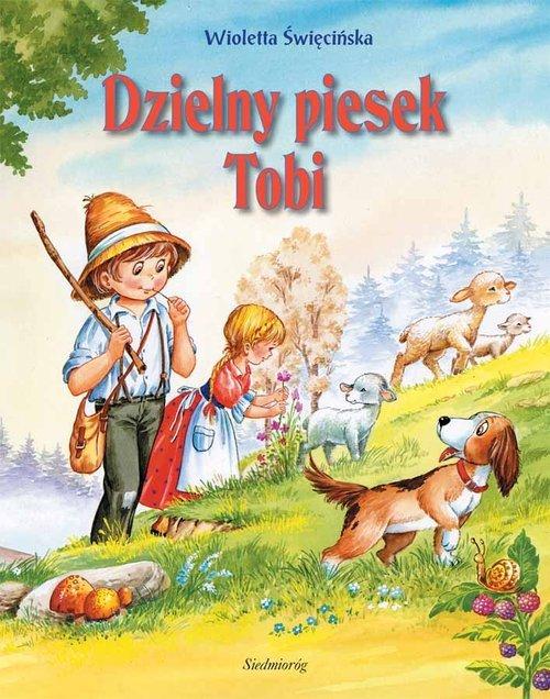 Dzielny piesek Tobi - okładka książki