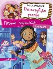 Dziewczyńska paczka. Fatima i tajemnicza - okładka książki