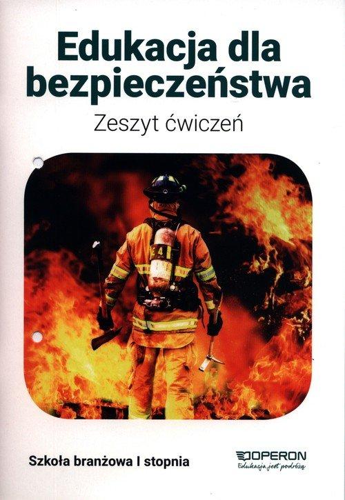 Edukacja dla bezpieczeństwa. Zeszyt - okładka podręcznika