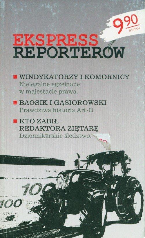 Ekspress reporterów - okładka książki