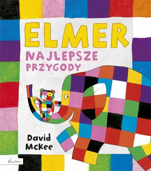 Elmer Najlepsze przygody - okładka książki