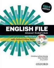 English File 3E Advanced SB + Online - okładka podręcznika