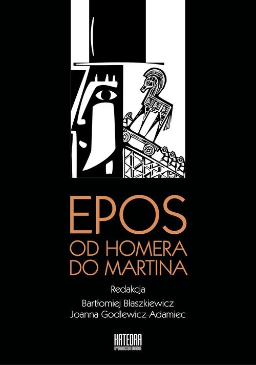 Epos: od Homera do Martina - okładka książki