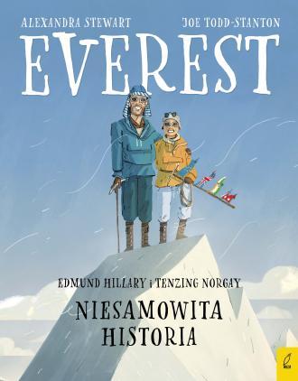 Everest Edmund Hillary i Tenzing - okładka książki