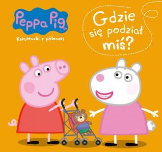 Gdzie się podział miś świnka peppa - okładka książki