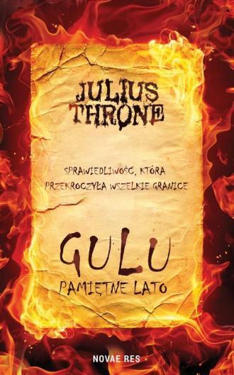 Gulu Pamiętne lato - okładka książki