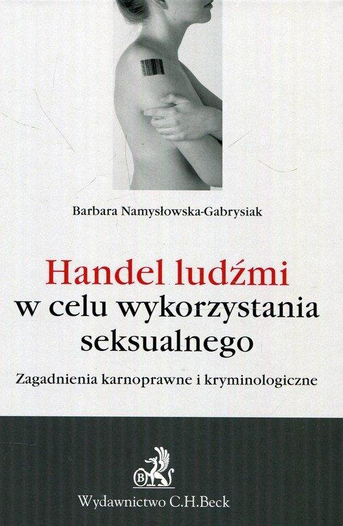 Handel ludźmi w celu wykorzystania - okładka książki