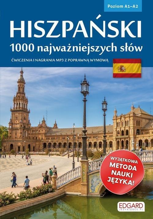 Hiszpański. 1000 najważniejszych - okładka podręcznika