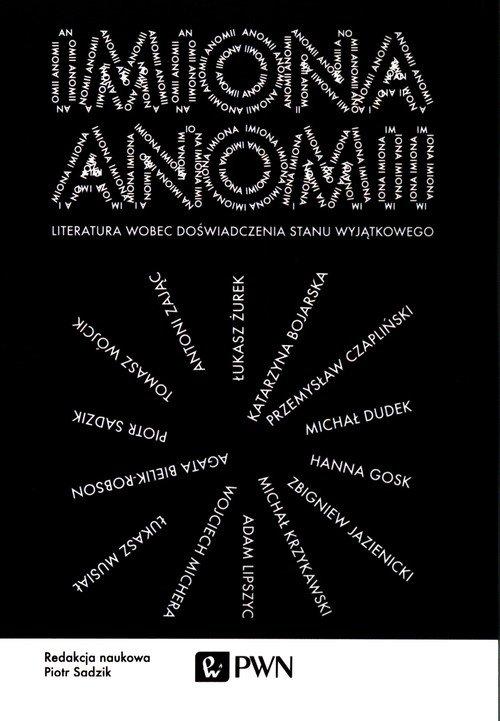 Imiona anomii. Literatura wobec - okładka książki