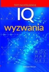 IQ wyzwania - okładka książki