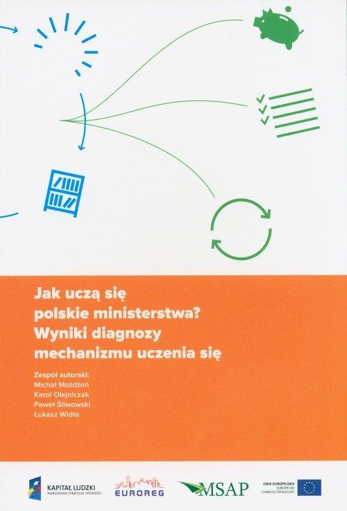Jak uczą się polskie ministerstwa? - okładka książki