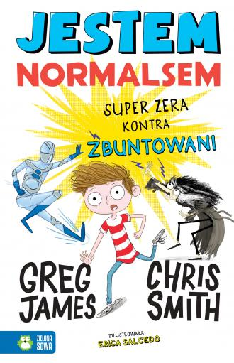 Jestem Normalsem. Super Zera kontra - okładka książki