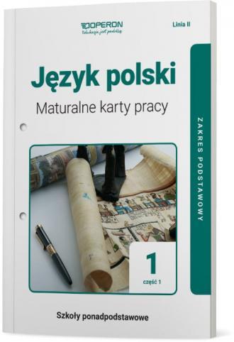 Język polski 1. Szkoły ponadpodstawowe. - okładka podręcznika