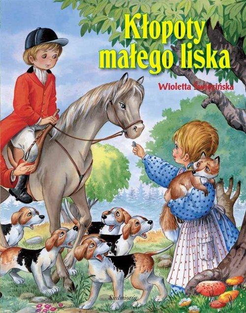 Kłopoty małego liska - okładka książki