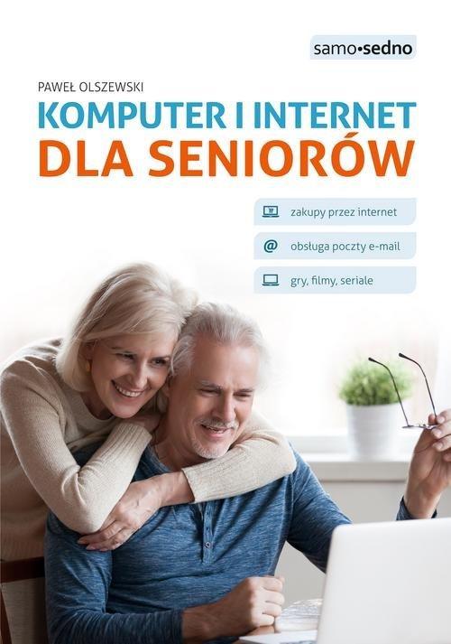 Komputer i internet dla seniorów - okładka książki