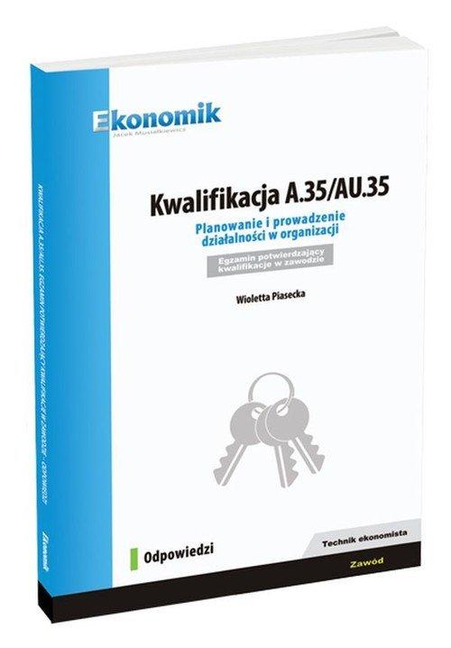 Kwalifikacja A.35/AU.35 Planowanie - okładka podręcznika