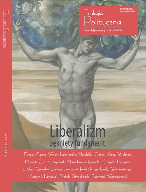 Liberalizm pęknięty fundament - okładka książki