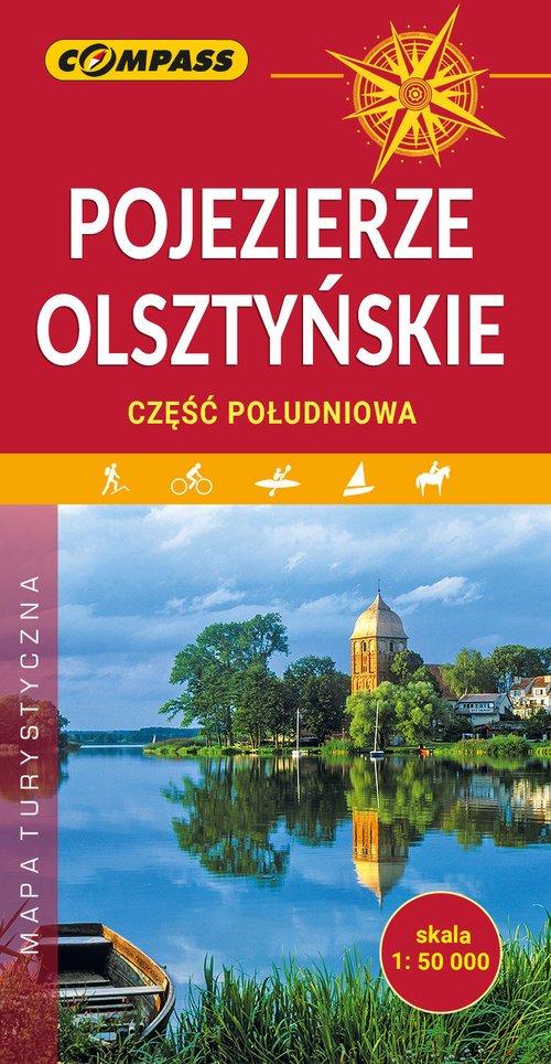 Mapa Pojezierze Olsztyńskie część - okładka książki