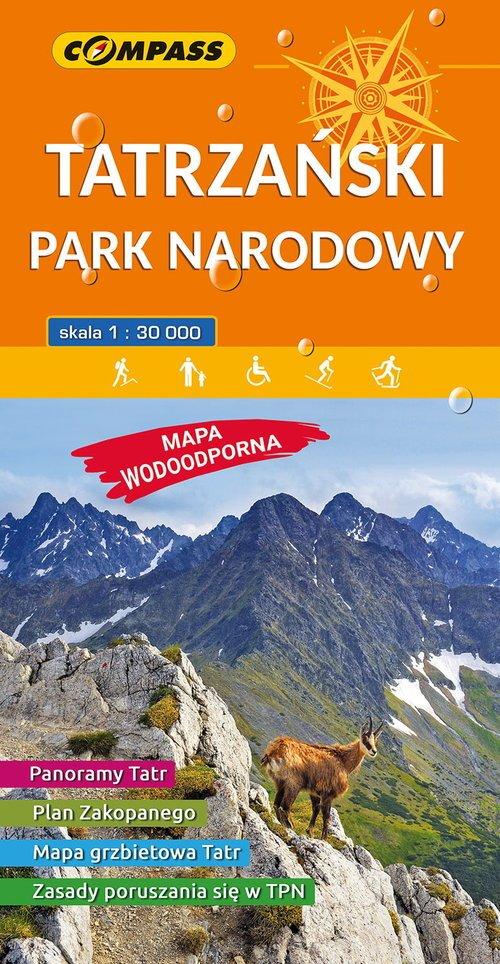 Mapa Tatrzański Park Narodowy 1:30000 - okładka książki