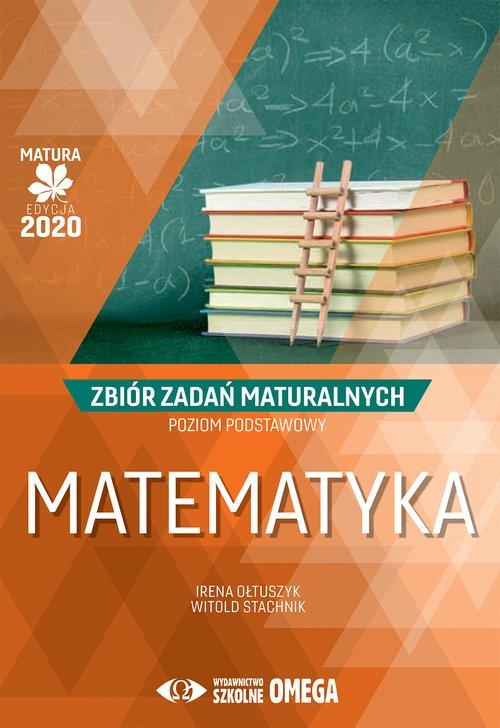 Matematyka. Matura 2020. Zbiór - okładka podręcznika