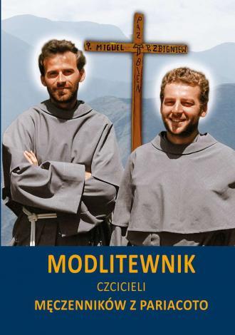 Modlitewnik czcicieli Męczenników - okładka książki