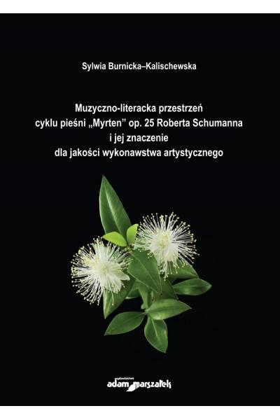 Muzyczno-literacka przestrzeń cyklu - okładka książki