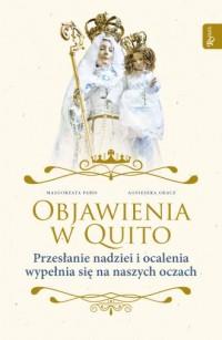Objawienia w Quito - okładka książki