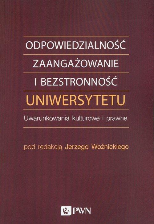 Odpowiedzialność, zaangażowanie - okładka książki