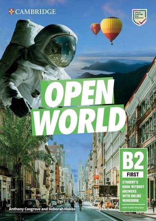 Open World B2 First. Self Study - okładka podręcznika