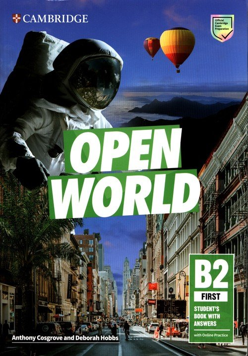 Open World First Students Book - okładka podręcznika