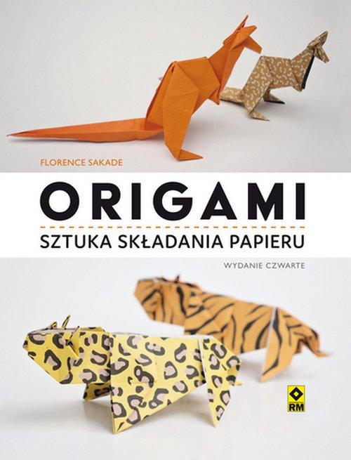 Origami. Sztuka składania papieru - okładka książki